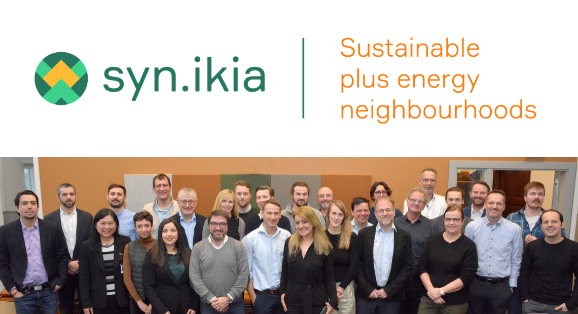 IREC will contribute to sustainable plus energy neighbourhoods within the syn.ikia project