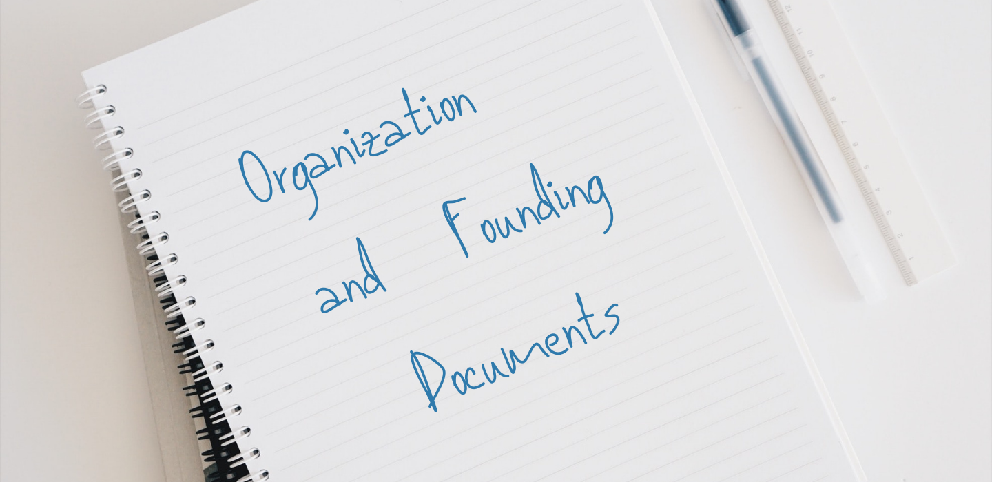 Organization and Founding Documents_banner IREC