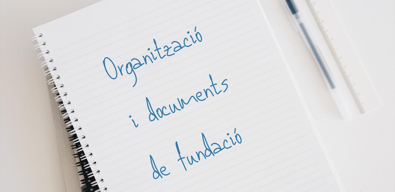 ORGANITZACIÓ I DOCUMENTS DE FUNDACIÓ_banner